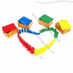 4-set Educational Toys with Sensorial Series Montessori Class