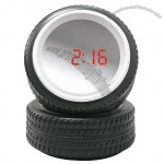 "4"" Wheel Mirror Alarm Clock"