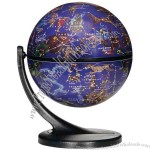 "4.3"" Globe rotates & features stars, constellations, and celestial images."