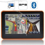 """4.3"""" Touchscreen GPS Navigator with Multimedia Player"""