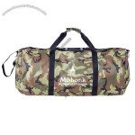 "40"" X 18"" X 18"" - Large Camouflage Carry All Roll Bag"
