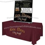 """40"""" X 60"""" Table Top Roll Up Vertical Banner, Retractable Stand And Carrying Case"""