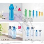 400ml & 650ml Drinks Bottle With Ice Stick - Cold Freezing Bottle