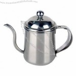 400ml Stainless Steel Mini Coffee Pot With Handle