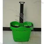 42L Rolling Shopping Basket(2)