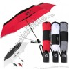 "43"" Totes Auto Open Close Color Block Umbrella"