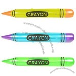 """44"""" Neon Crayon Inflate"""