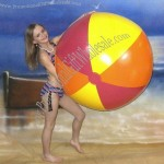 "46"" 3 Color Brilliant Beach Ball"