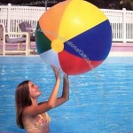 "46"" 6 Color Beach Ball"