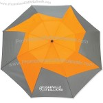 "46"" Pinwheel Vented Auto Open Umbrella"