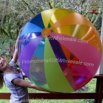 "48"" 12 Color Rainbow Beach Ball"
