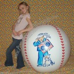 "48"" Cracker Jack Baseball Beach Ball"