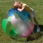 "48"" Frosted Beach Ball"