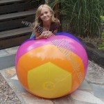 "48"" Horizontal Stripe Beach Ball"