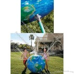 "48"" Inflatable Astronauts View Earth Globe Sprinkler Ball - Water Sprayer"
