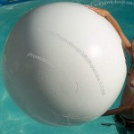 "48"" Winter White Beach Ball - Snowball"