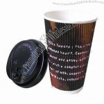 480ml Ripple Paper Cup