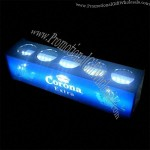 5 Bottles Glorifier With 12V With 3mm Thickness Blue Acrylic