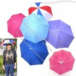 5 Colors Foldable Golf Fishing Hunting Camping Sun Brolly Umbrella Cap