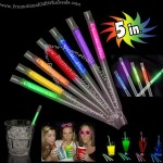 "5"" Glow Motion Drinking Straws"