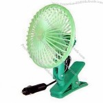 "5"" Mini Car Fan with Cigarette Lighter Plug and Switch"