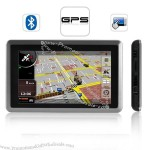 "5"" Touchscreen GPS Navigator with Bluetooth and FM transmitter"
