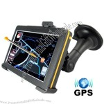 """5"""" Touchscreen GPS Navigator with Multimedia System"""