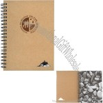 5 x 7 Spiral Stone Paper Notebook