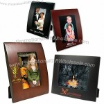 "5""x7"" Curved Wood Picture Frame"