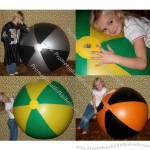"50"" 2 Colors Bigger Beach Ball"