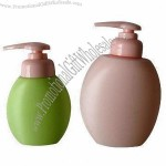500mL HDPE Plastic Bottles with Lotion Pump