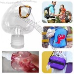 50ml Gel Heart Shaped Spray Bottle Flip Cap Hook Bottle Hand Sanitizer Free With Carabiner