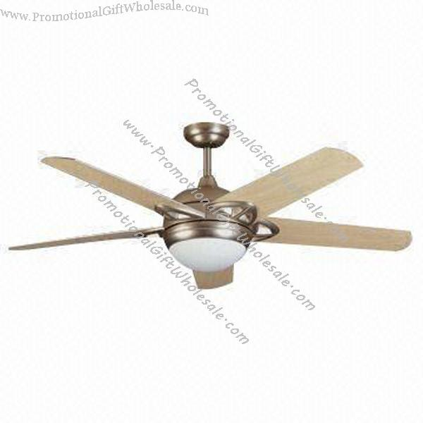 Promotional 52 Inches Ceiling Fan with 5 Wooden Blades