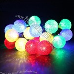5cm Christmas Tree Colored Spherical Lights String