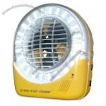 5inch Emergency Rechargeable Fan with LED Light