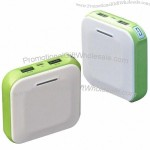 6,600mAh High-capacity Power Banks with Two USB Output Ports