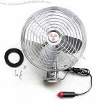 6-inch Full Metal Car Fan with CE and RoHS Marks