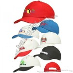 6-panel Constructed Polyester Caps