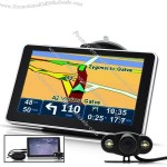 "6"" Touchscreen GPS Navigator with Rearview Camera, Bluetooth, FM Transmitter"