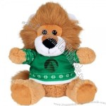"6"" Ugly Christmas Sweater Lion"