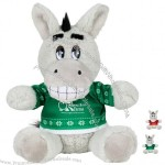 "6"" Ugly Christmas Sweater Stuffed Donkey"