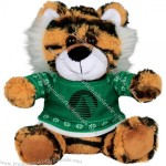 "6"" Ugly Christmas Sweater Tiger"