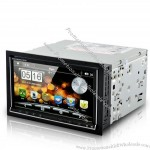 "6.95"" Dual OS Car DVD Player (Android 2.3 + WIN CE, 3G + WiFi, GPS)"