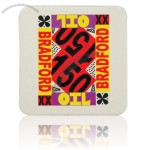 "60 Pt. Thickness Square White Coaster 3 1/2""X3 1/2"""
