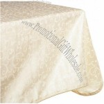 60 x 84 Inch Oblong / RectangleTablecloth, Ivory
