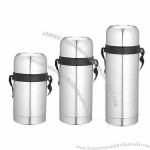 600/750/1200ml Food Container, Double Wall Stainless Steel Vacuum Flasks