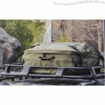 600D Polyester Oxford Waterproof Automotive Roof Bag