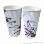 600mL Eco-friendly Disposal Paper Cups