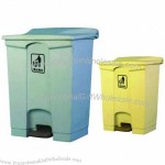 60L Plastic Garbage Can With Pedal