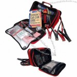 63 Piece Emergency Roadside Kit